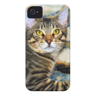 Bengal Cat Art iPhone 4 Case-Mate Case
