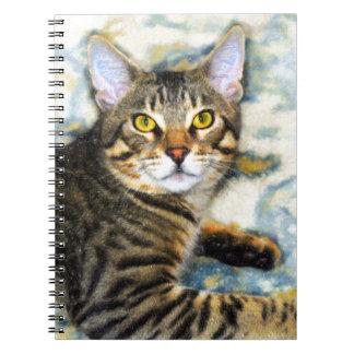 Bengal Cat Art Notebooks
