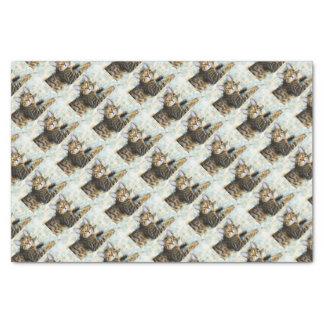 Bengal Cat Art Tissue Paper
