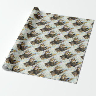 Bengal Cat Art Wrapping Paper