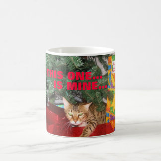 BENGAL CAT CHRISTMAS MUG