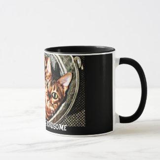 Bengal Cat Good Morning Handsome Mug