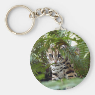 Bengal Cat Keychain