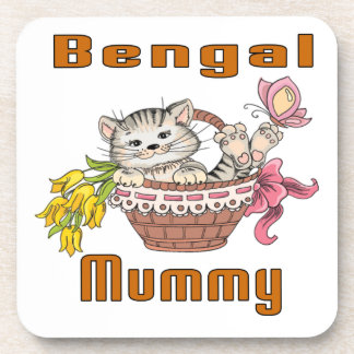 Bengal Cat Mom Coaster