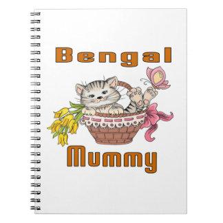 Bengal Cat Mom Notebook