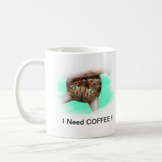Bengal Cat Need Coffee Coffee Mug