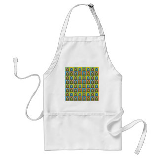 Bengal Cat Pop-Art Standard Apron
