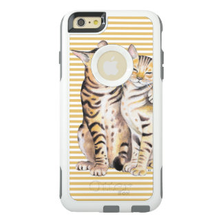 Bengal Cats Ochre Stripes OtterBox iPhone 6/6s Plus Case