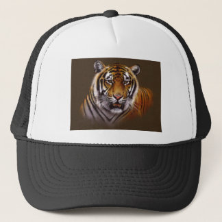 Bengal Face Tiger Trucker Hat