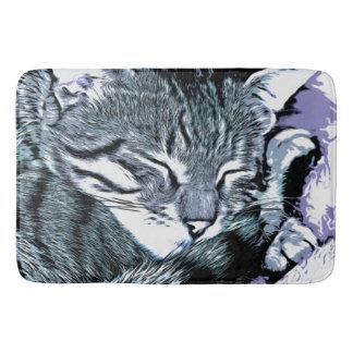 Bengal Kitten Nap Bath Mat