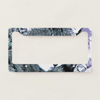 Bengal Kitten Nap License Plate Frame