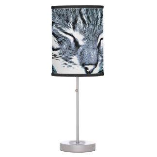 Bengal Kitten Nap Table Lamp