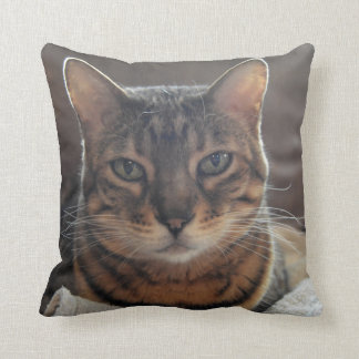 Bengal Love Throw Pillow