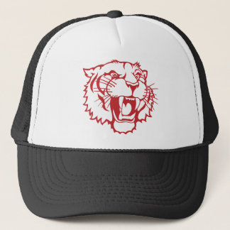Bengal Mascot (Red) Trucker Hat
