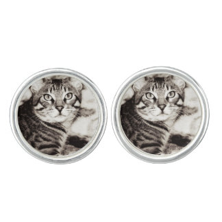 Bengal Photo Cufflinks