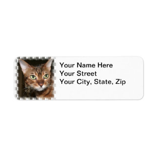 Bengal Portrait  Return Address Label