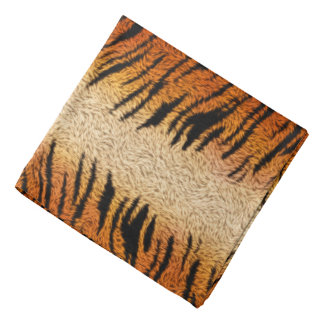 Bengal Tiger Animal Fur Bandana