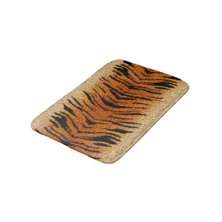 Bengal Tiger Animal Fur Bathroom Mat