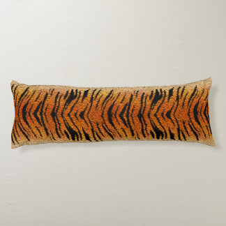 Bengal Tiger Animal Fur Body Pillow
