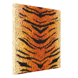 Bengal Tiger Animal Fur Canvas Print