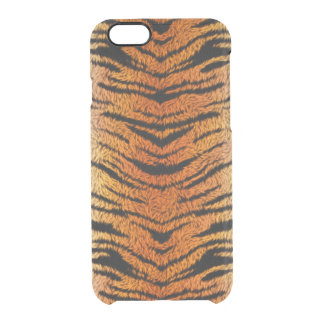 Bengal Tiger Animal Fur Clear iPhone 6/6S Case