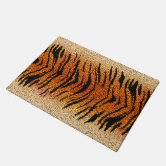 Bengal Tiger Animal Fur Doormat