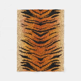 Bengal Tiger Animal Fur Fleece Blanket