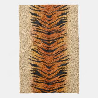 Bengal Tiger Animal Fur Kitchen Towel