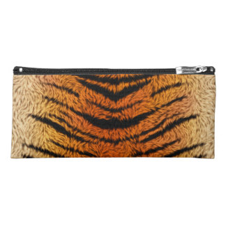 Bengal Tiger Animal Fur Pencil Case