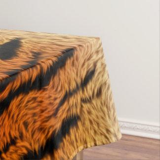 Bengal Tiger Animal Fur Tablecloth