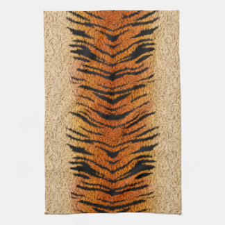 Bengal Tiger Animal Fur Towel