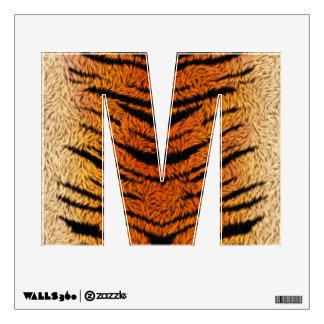 Bengal Tiger Animal Fur Wall Sticker