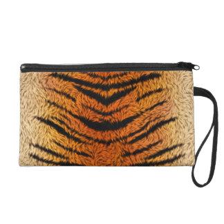Bengal Tiger Animal Fur Wristlet