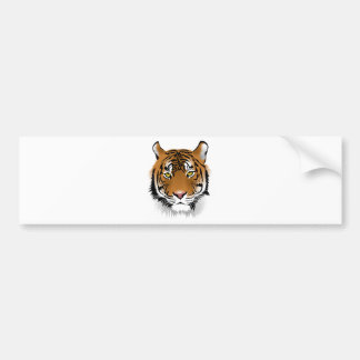 Bengal Tiger Bumper Sticker