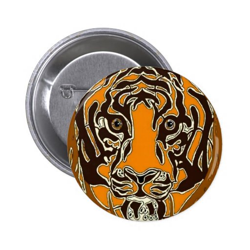 Bengal Tiger Pinback Button