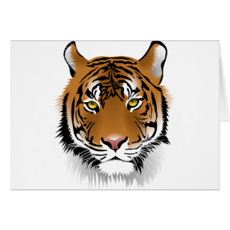 Bengal Tiger Card
