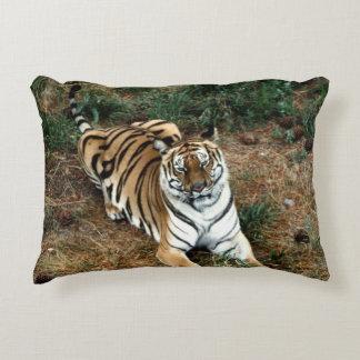 Bengal tiger decorative pillow