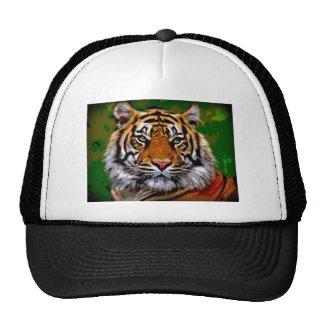 Bengal tiger mesh hats
