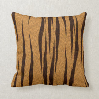 Bengal Tiger Hide Throw Pillow