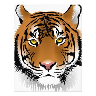 Bengal Tiger Letterhead