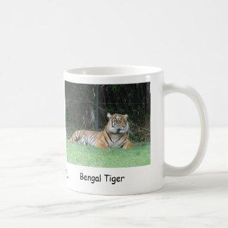 Bengal Tiger Basic White Mug