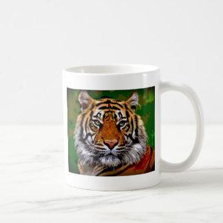 Bengal tiger coffee mugs