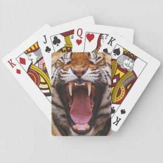 Bengal Tiger, Panthera tigris 2 Poker Deck