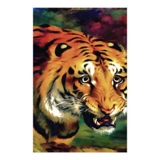 Bengal Tiger Personalized Stationery