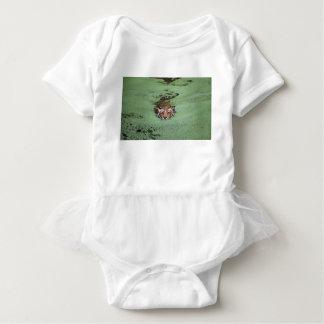 Bengal Tiger Swimming Baby Bodysuit