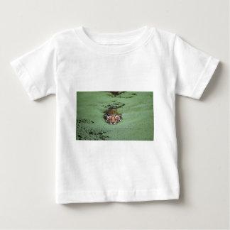 Bengal Tiger Swimming Baby T-Shirt