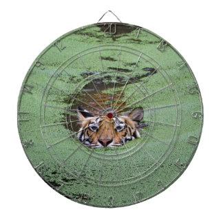 Bengal Tiger Swimming Dartboard