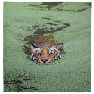 Bengal Tiger Swimming Napkin