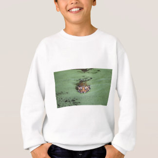 Bengal Tiger Swimming Sweatshirt