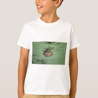 Bengal Tiger Swimming T-Shirt